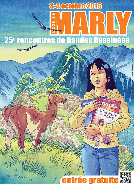 Marly rencontres BD 2015