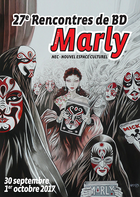 Rencontres bd marly 2016