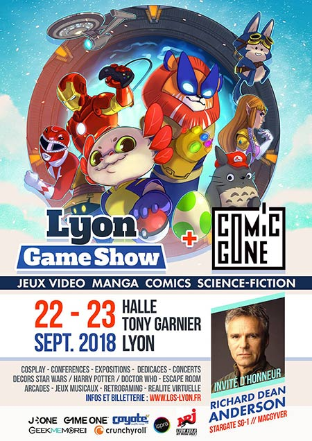 LYON COMICS GONE
