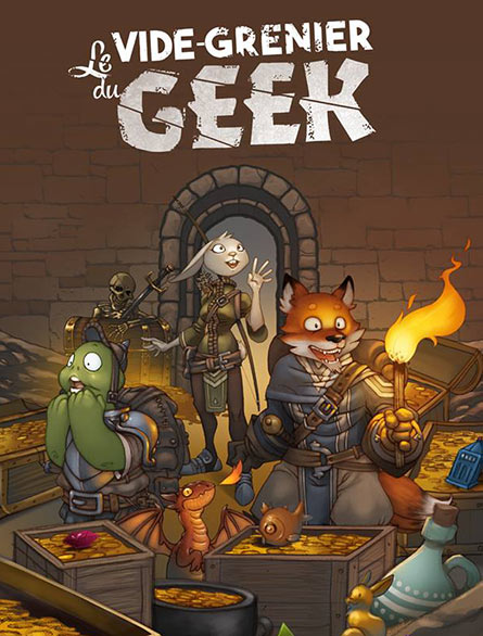 Vide grenier du Geek à Nancy